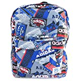 Backpack 'Adidas' blue graffiti (45x27x13 cm (0.00''x10.63''x5.12'') ).