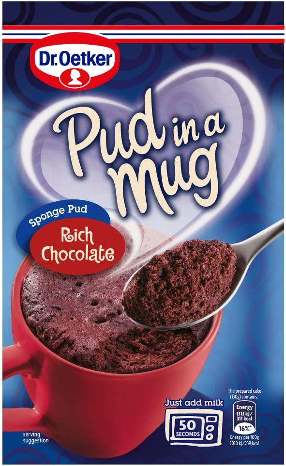 Dr Oetker Rich Chocolate Pud In A Mug Amazoncouk Grocery