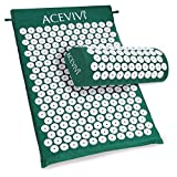New Body Head Foot Massager Cushion Acupressure Mat Relieve Stress Pain Acupuncture Spike Yoga Mat With Pillow