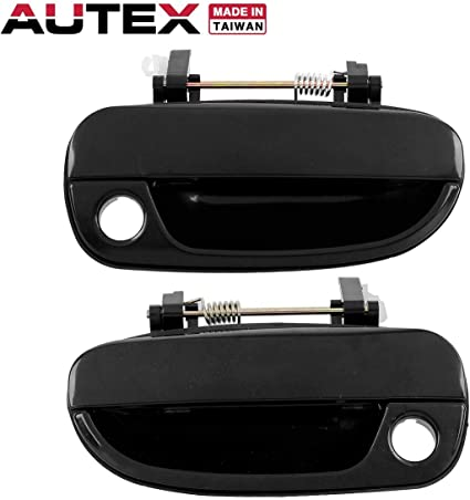 Outer Outside Exterior Door Handles Front Pair Set LH Left /& RH Right for Dodge