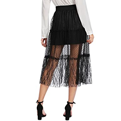 JUTOO Faldas de Las Mujeres Europeas y Americanas Nuevo Vestido de ...