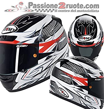 Suomy ksap0019.2 Casco Moto, multicolor, XS