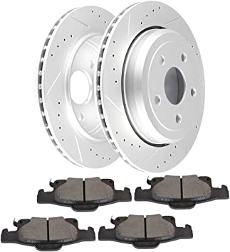 2015 Fit Jeep Grand Cherokee OE Replacement See Desc. Rotors Ceramic Pads R