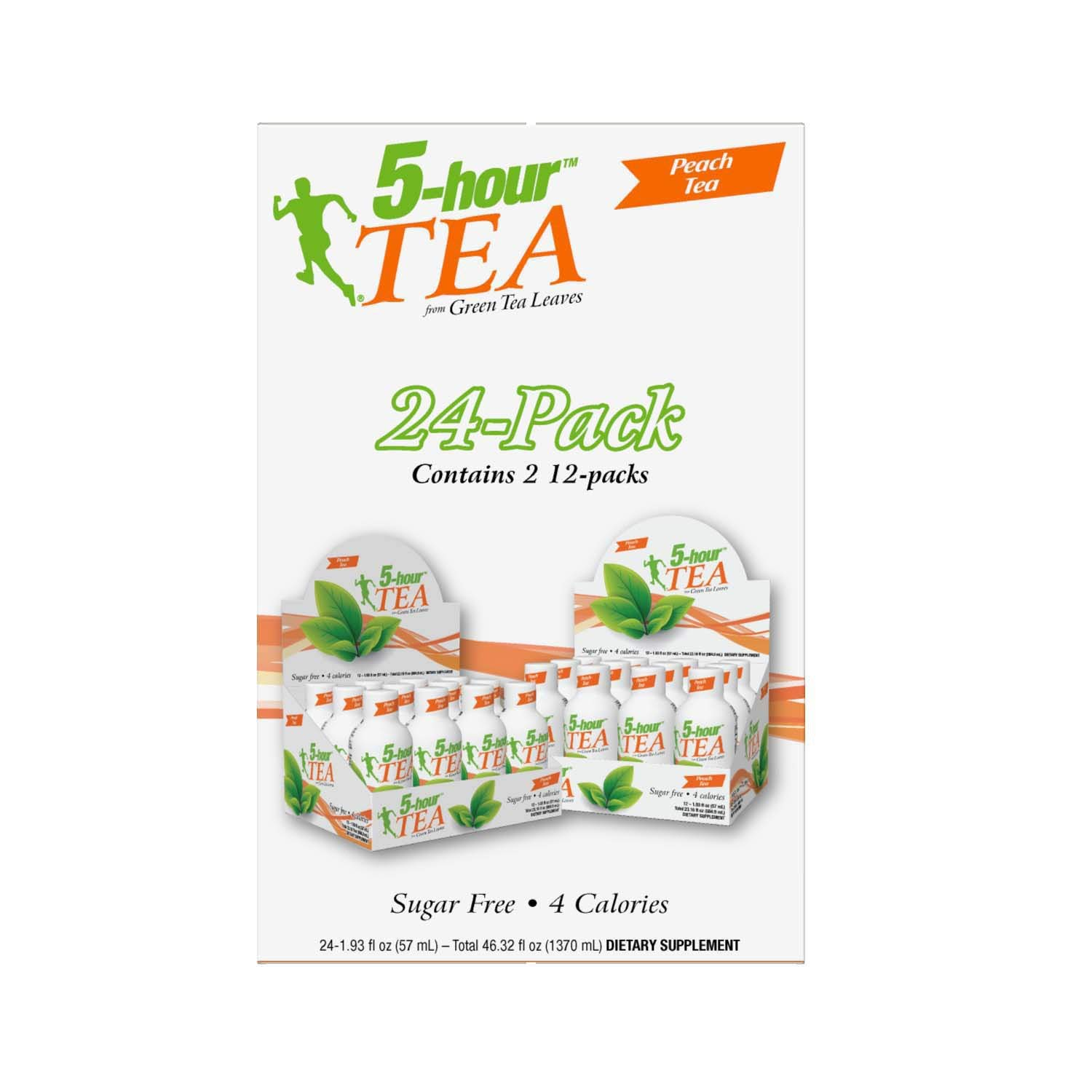 5-hour Green TEA - Peach Flavored - 24 Count by 5-Hours (Image #4)
