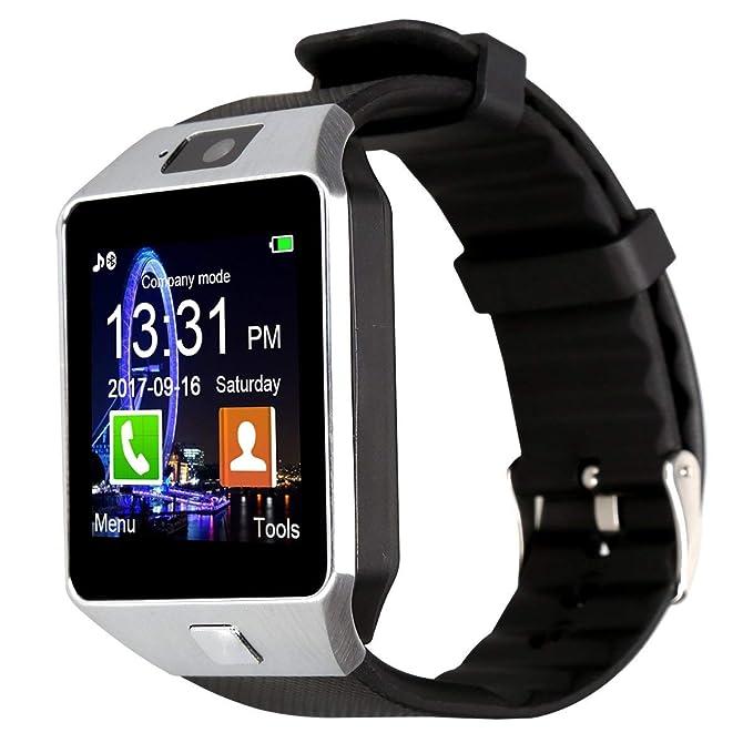 Amazon.com: FORTUNSHOP Bluetooth DZ09 Smartwatch Touch ...