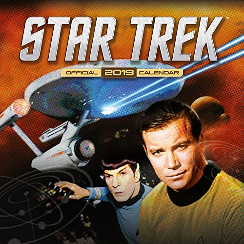 Star Trek TV Series Classic Official 2019 Calendar - Square Wall Calendar Format