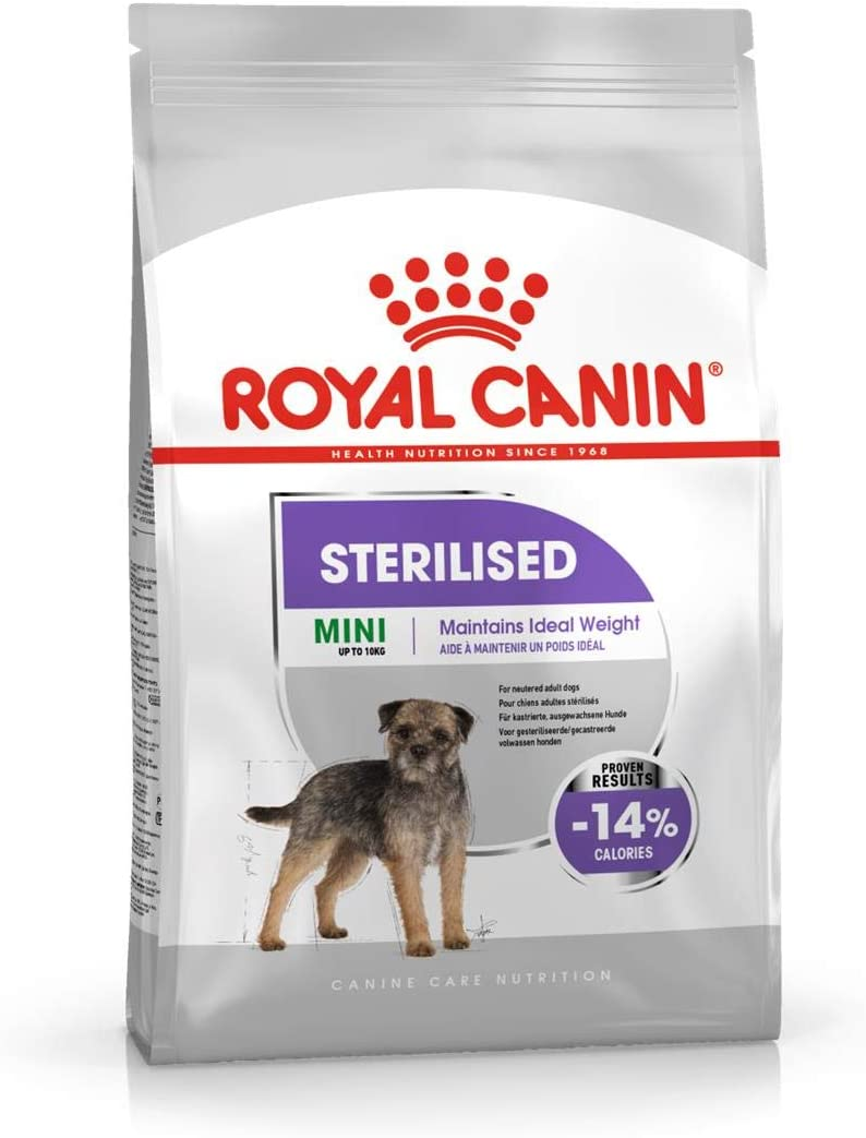 ROYAL CANIN Pienso Mini Sterilised para Perros Pequeños Esterilizados Saco 1 Kg - 1000 gr