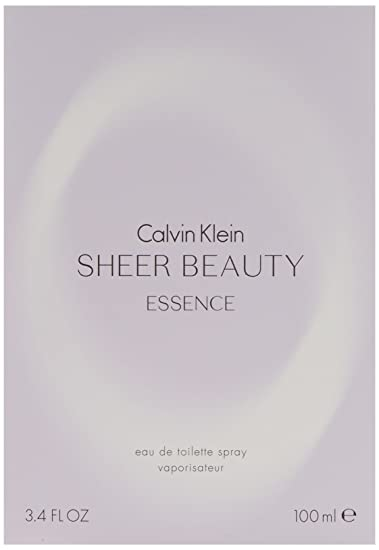 Calvin Klein Sheer Beuty Essence EDT for her, 100ml : Amazon.in