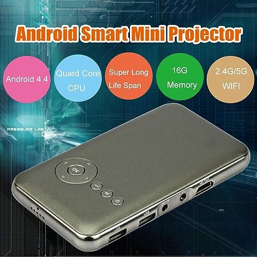 SEXTT Mini proyector, 1 / 16G Proyector portátil para teléfono ...