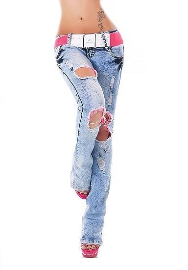 Jeans Seventy Taille Bootcut Red Bleu Clair Femme Unique OYq5d5w