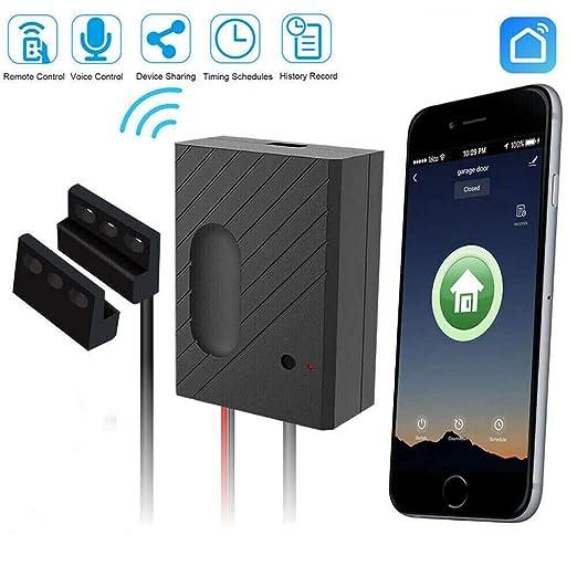 Heomeyb Wi-Fi Abridor de Puerta de Garaje Inteligente Interruptor ...