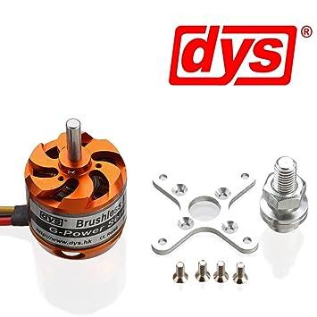 Brushless Motor Outrunner D2830-11 1000kv 210 Watt
