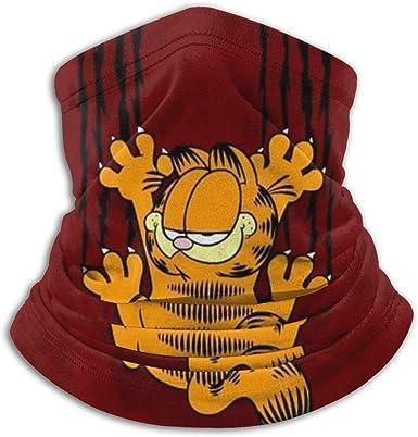 Garfield Cartoon Cat Neck Warmer Scarf Soft Unisex Windproof Sports Hiking Head Scarf Novelty Headband Sun Uv Dust Wind Protection At Amazon Women S Clothing Store