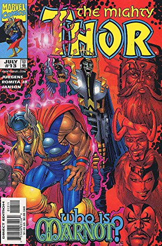 Thor (Vol. 2) #13 VF/NM ; Marvel comic book (Thor Lady Sif And The Warriors Three)