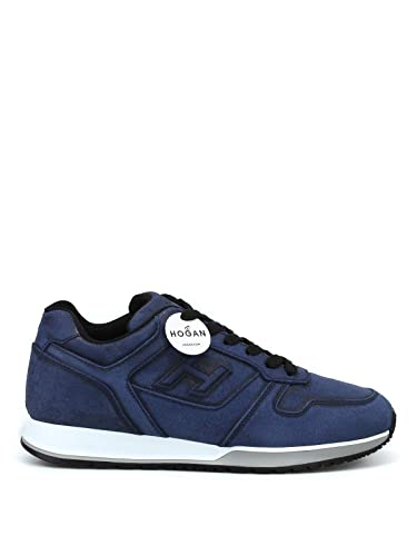 Hogan Sneakers H321 HXM3210Y850GZXU801 Blu Uomo: Amazon.it