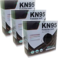 (30 Pack) Cubrebocas Mascarilla KN95 NEGRO ajuste nasal interno | standard GB2626 - 2006 | standard GB2626 - 2006…