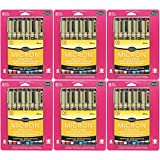 Sakura 30066 8-Piece Pigma Micron Assorted Colors Ink Pen Set (6-PACKS)