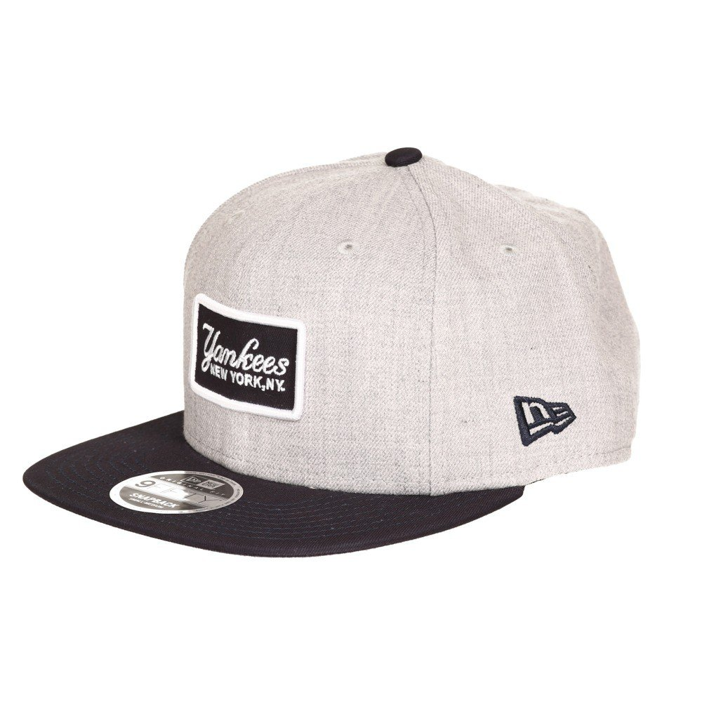 fe193962 New Era Retro Patch New York Yankees Snapback 80371377 Heather Grey ...