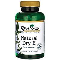 Swanson Natural Dry Vitamin E 400 Iu (180.2 Milligrams) 100 Capsules