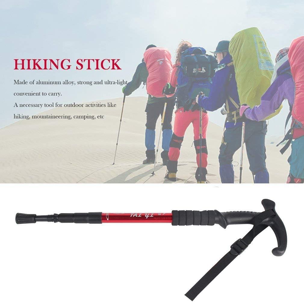 per Sport e Campeggio Alpinismo Leoboone Bastone Retrattile Antiurto telescopico Ultraleggero per Trekking e Trekking