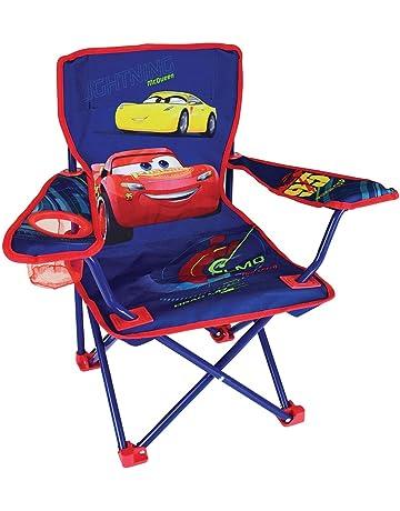 Fun House 712940 Disney Cars Silla – Silla de Camping Plegable para niños