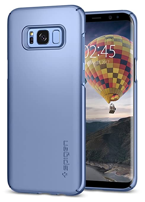 70 opinioni per Cover Galaxy S8, SPIGEN® Custodia [Thin Fit] Premium finitura opaca di