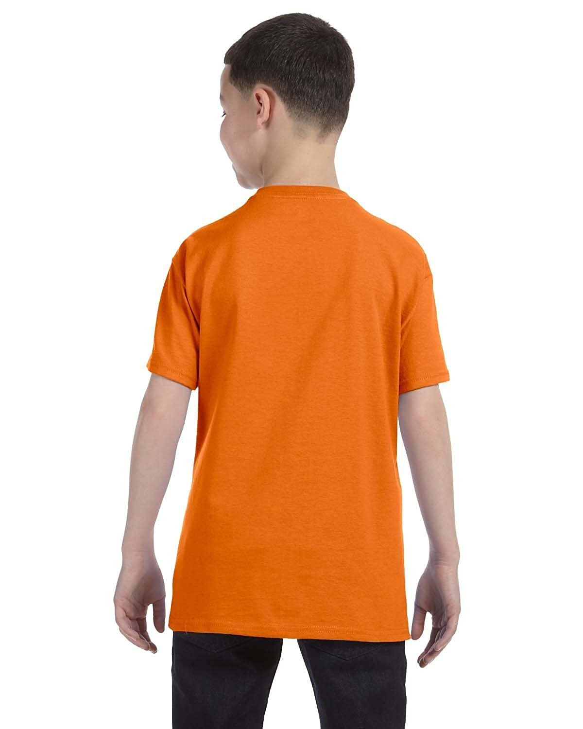 Orange X-Small Hanes Boys 5 Pack Ultimate Comfortsoft Crew