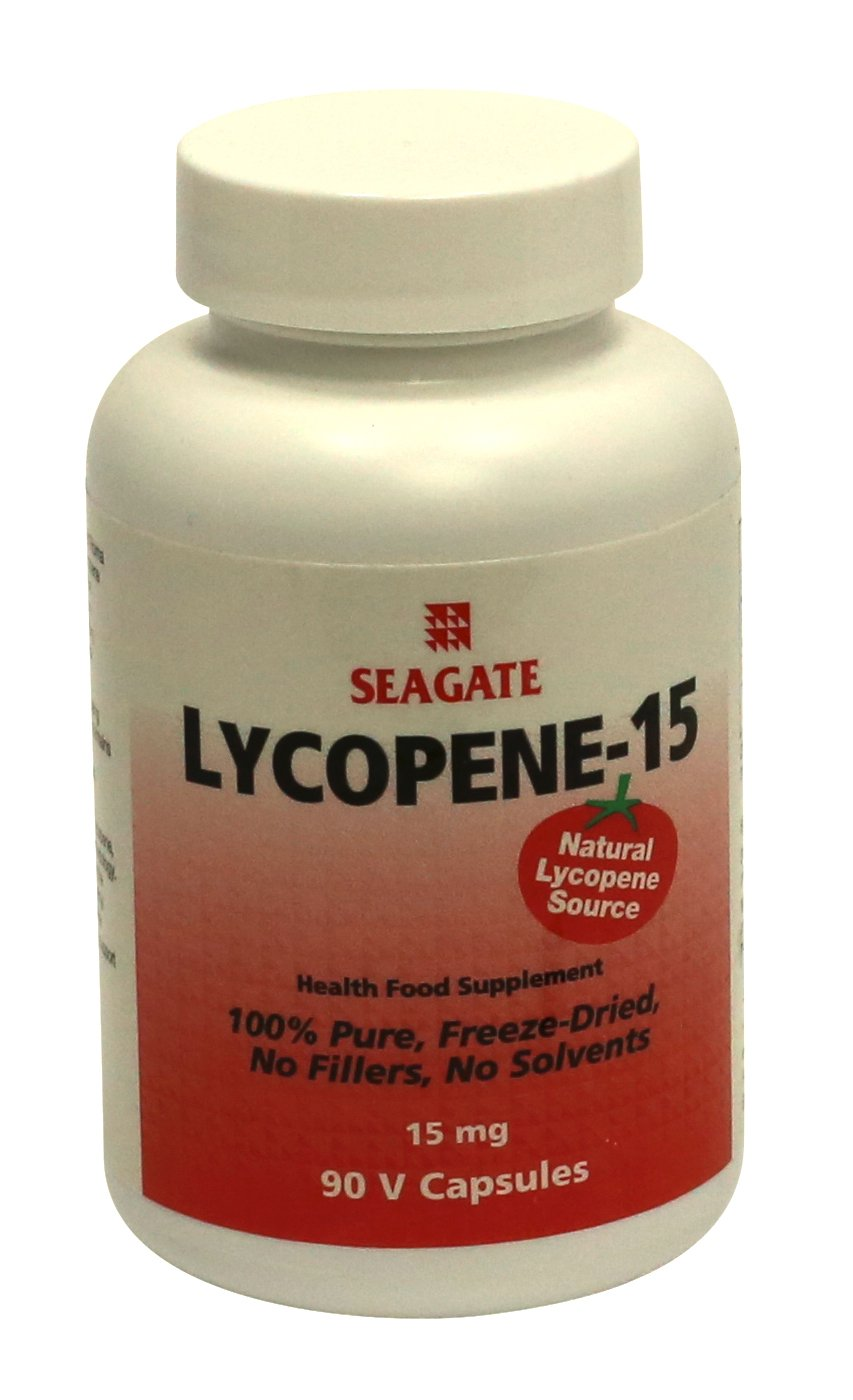 Seagate Products Lycopene-15 Supplements 15 mg 90 Capsules