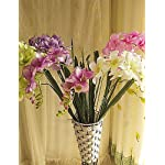Artificial-Flowers-Fashion-Bouquets2-Head-of-Freesia-in-Silk-Cloth-Artificial-Flower-for-Home-Decoration10Piece-Blue