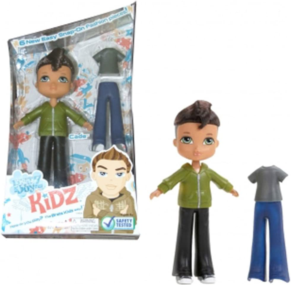 1 PCS MGA Bratz KIDZ Boy Cade Or Cameron Doll Figure Toy