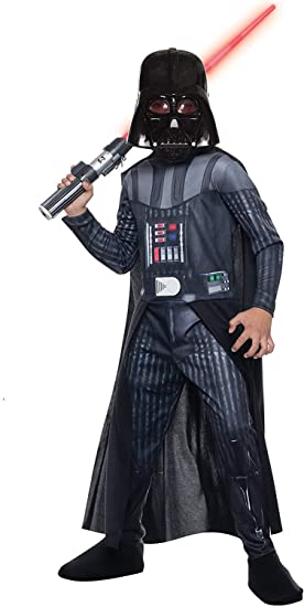 Disfraz de Darth Vader Star Wars para niño: Amazon.es: Juguetes y ...