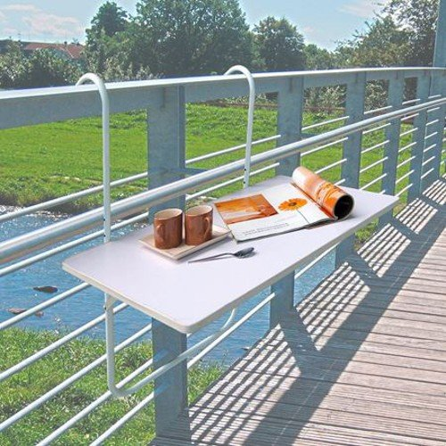 Good balcon table pliante table pliante pour balcon with - Console pliante pour tablette rabattable ...