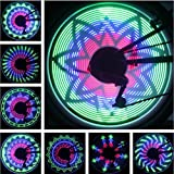 BicycleStore 36 LED Lights 32 Changes Mountain Bicycle Cycling Bike Tire Wheel Light Double-sided Full Screen Display