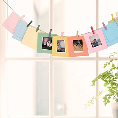 DIY Creative Wall Hanging Album Photo Frame Hanging Picture Display ...