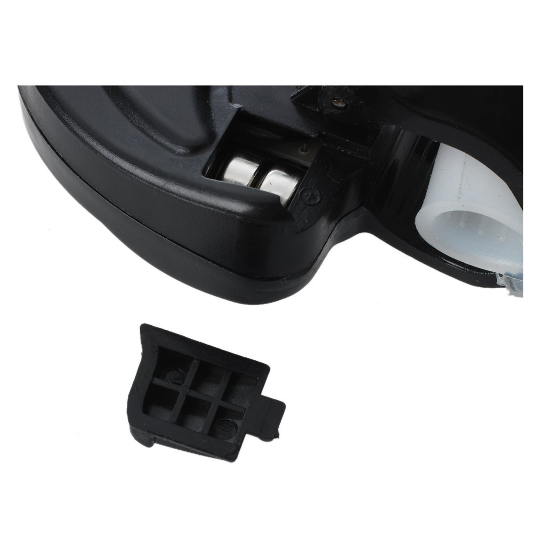 SODIAL(R) Pesca mordedura de alarma Indicador de Bell LED impermeable con cana + Baterias Nightlight - Negro: Amazon.es: Bricolaje y herramientas