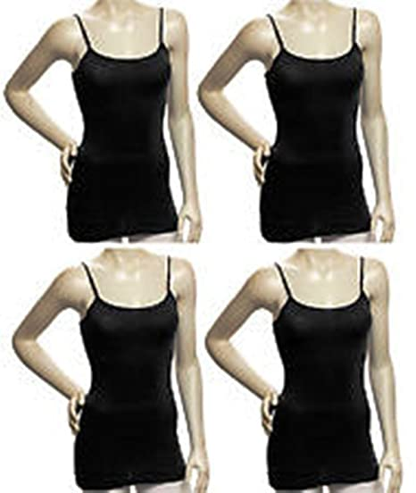 062b24e6bab48 Zenana Women s Tank Top Camisole with Built in Bra and Adjustable Straps  (small