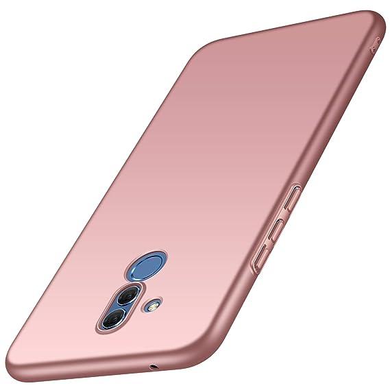 vasta selezione di 7d190 9902f Huawei Mate 20 Lite Case, Almiao [Ultra-Thin] Minimalist Slim Protective  Phone Case Back Cover for Huawei Mate 20 Lite (Smooth Pink)