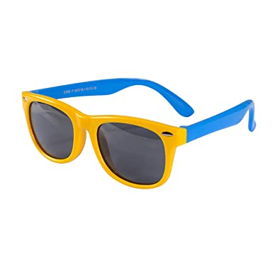 3332b9bd7ebd Image Unavailable. Image not available for. Color: Polarized Kids  Sunglasses Boys Girls Baby Infant Sun Glasses 100% UV400 Eyewear Child ...