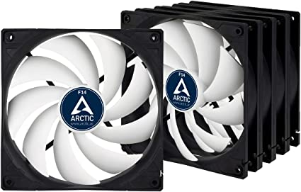 ARCTIC F14 (5 piezas) – 140 mm Ventilador de Caja para CPU, Motor ...