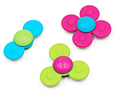 Fat Brain Toys- Spinners Whirly Squigz (1): Amazon.es: Juguetes y juegos