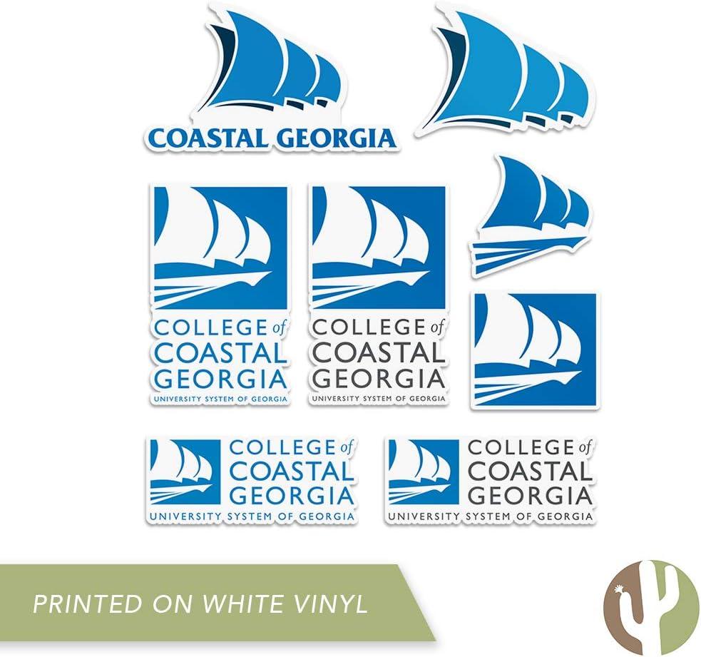 Type 2 Sheet College of Coastal Georgia Mariners NCAA Sticker Vinyl Decal Laptop Water Bottle Car Scrapbook