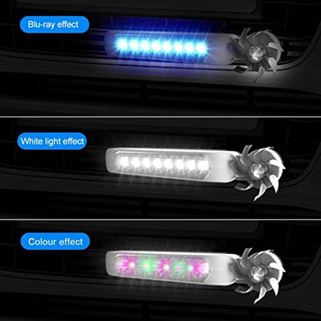 DRL LED Strip Light for Car SUV Sedan Coupe Vehicle Universal Decoration Fog Warning Auto Head Lamp Tenlso Wind Powered LED Daytime Running Light