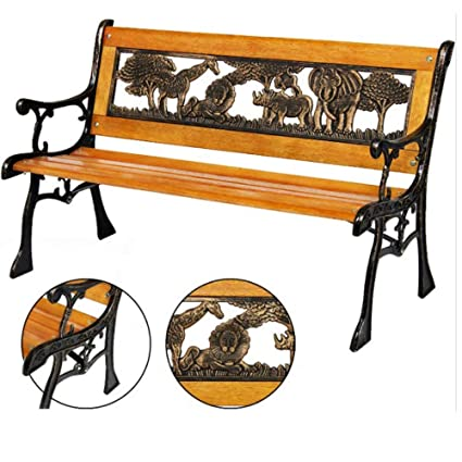 Admirable Amazon Com Bs Cast Iron Bench Kids Toddler Outdoor Mini Pdpeps Interior Chair Design Pdpepsorg
