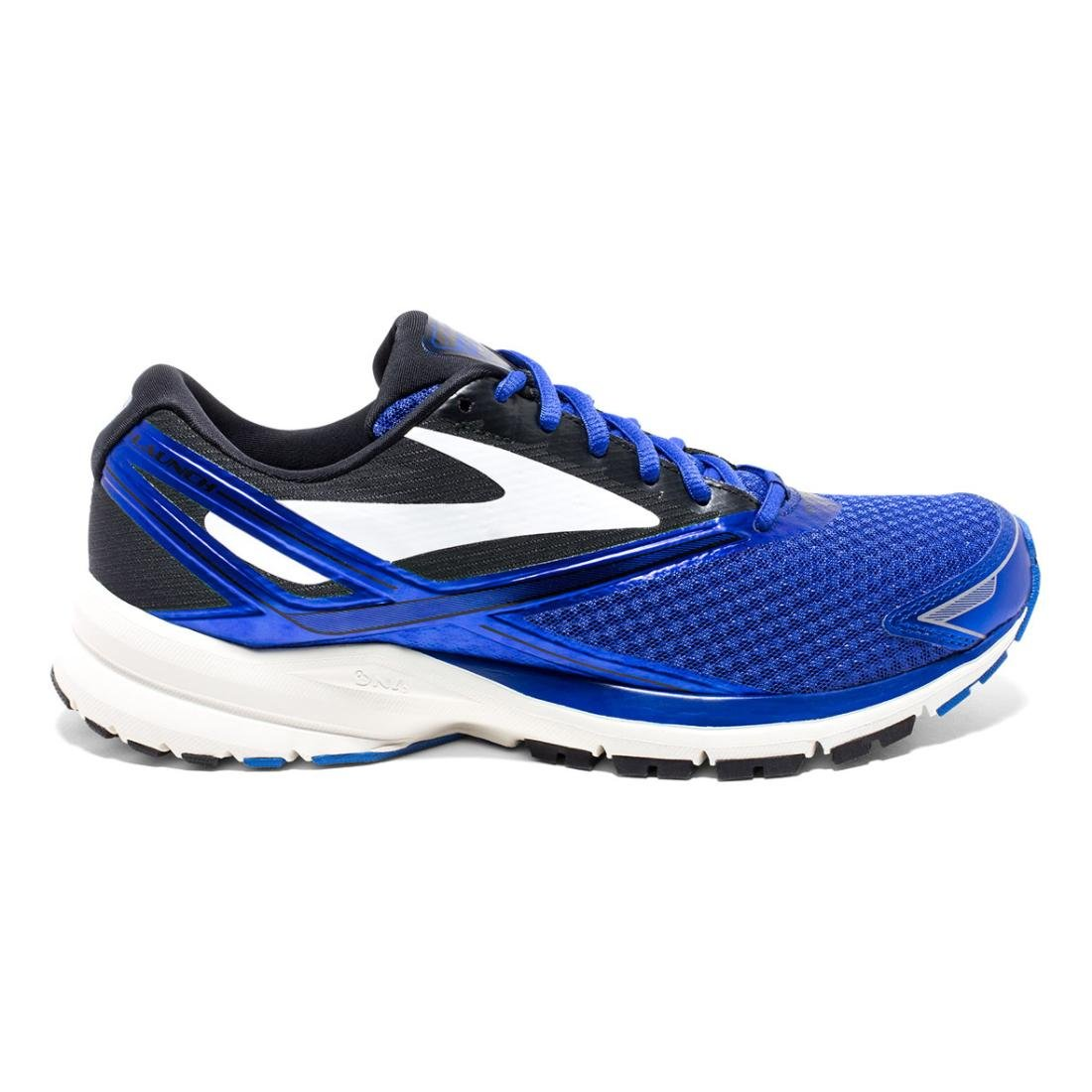 Brooks Mens Launch 4 B01GEYZG4A 12 D(M) US|Electric Brooks Blue/Black/White
