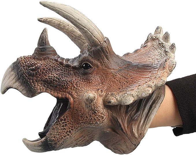 Triceratops Dinosaur Finger Puppet Felt Finger Puppet Triceratops Dinosaur Puppet