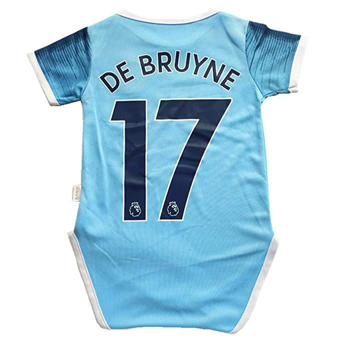 timeless design 6d02e d71c6 Amazon.com: Manchester City Home #17 DE BRUYNE Baby Suit ...