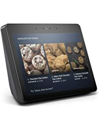 "Certified Refurbished Echo Show (2nd Gen) – Premium sound and a vibrant 10.1"" HD screen - Charcoal"
