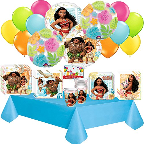 (Moana Deluxe Party Pack Bundle)
