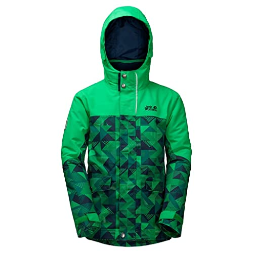 Jack Wolfskin 3 in1 - Chaqueta B Twin Falls 3 in1 JKT, Evergreen - Allover, 104, 1606791 - 7080104: Amazon.es: Zapatos y complementos