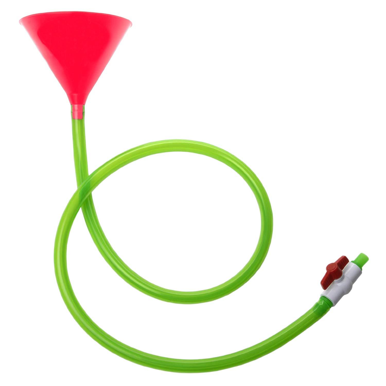 Bierbong Einfacher Spa/ß Imbuto XL 1 o 2 tubi flessibili